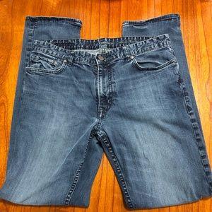 Calvin Klein Slim straight leg jeans